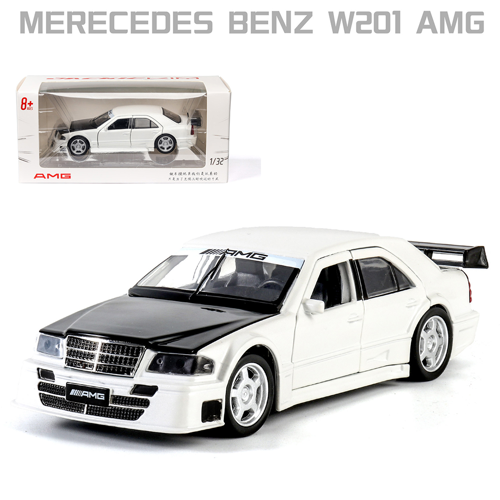 1:32 Alloy Car Model High Class SUV with Doors Trunk Engine Hood Open and Sound Light Effect Excellent Quality for Collection white