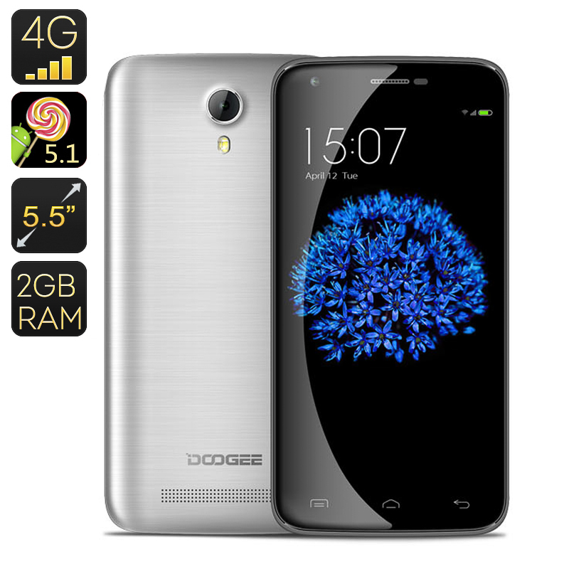 Doogee Y100 Plus Smartphone (Grey)