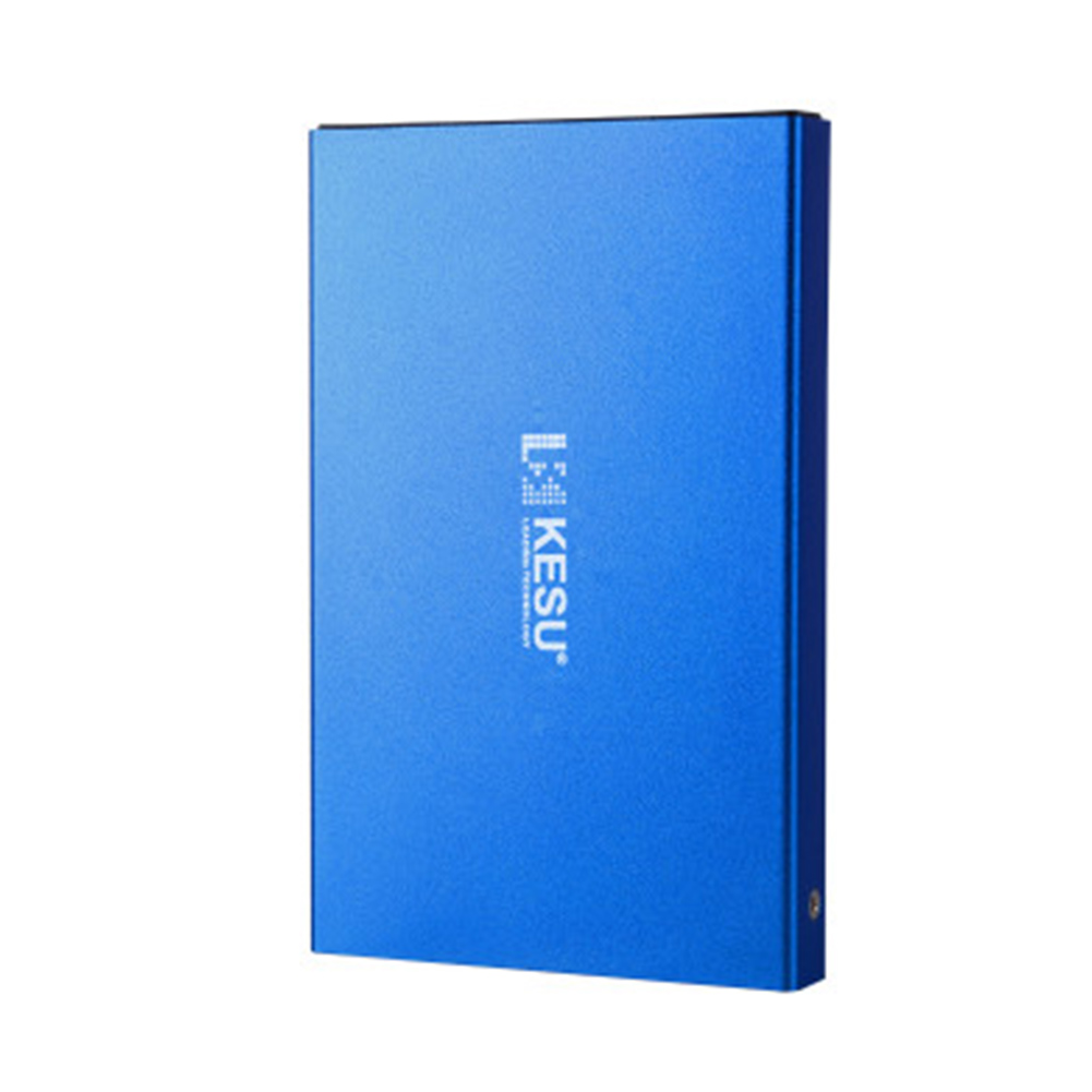 External Hard Drive 160G 500G 1TB 2TB Storage USB3.0 HDD Earthquake-proof and Fall-proof Mobile Hard Disk Xbox PS4 TV Box Blue USB 3.0