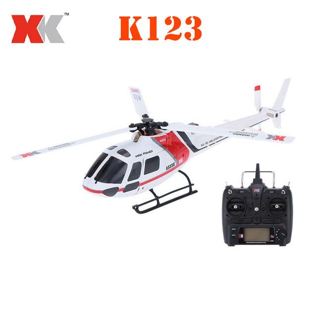 XK K123 RC Helicopter