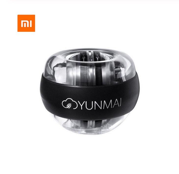 Xiaomi Mijia Wrist Trainer LED Gyroball Essential Spinner Gyroscopic Forearm Exerciser Gyro Ball black