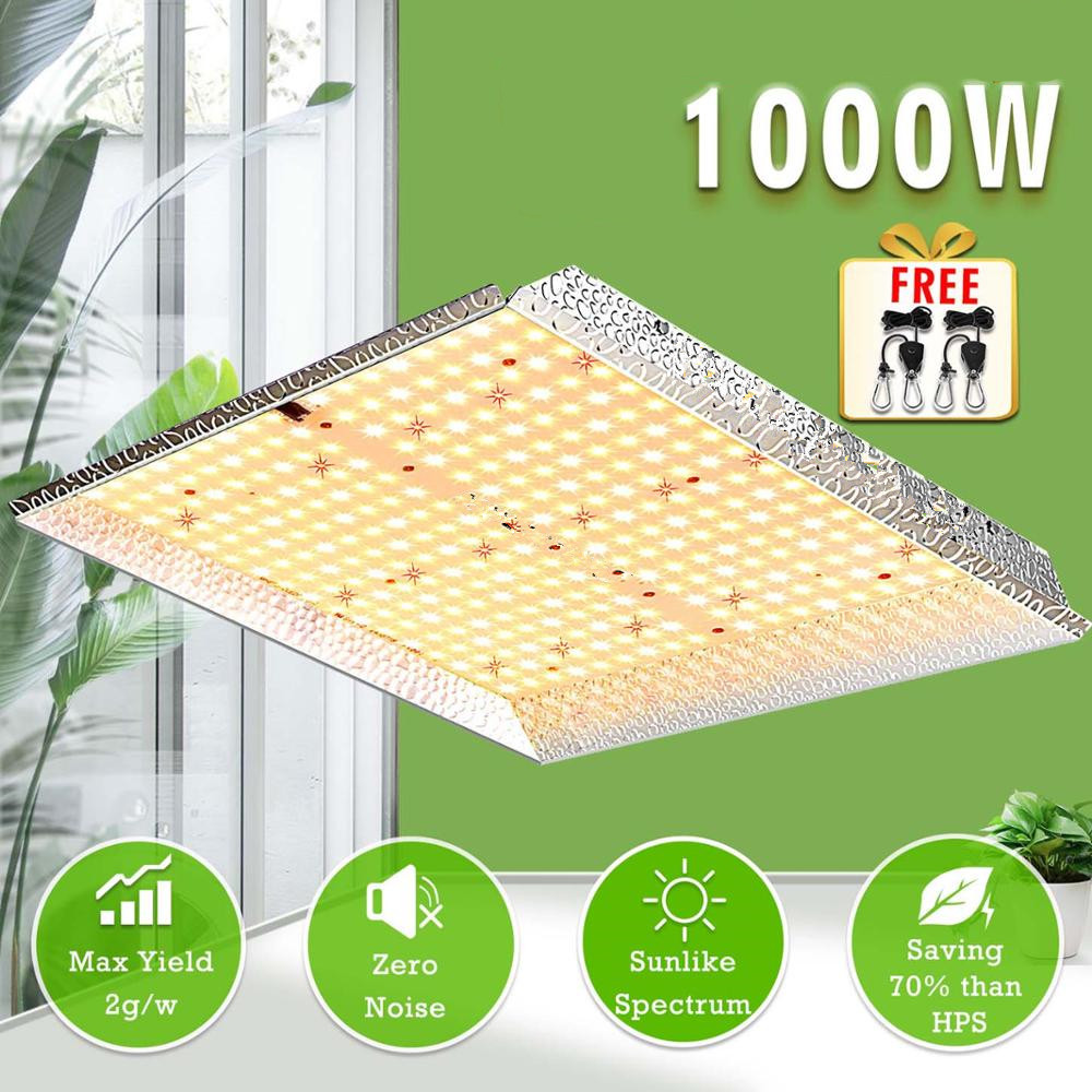 AC85-265V 1000W Led Plant Growth Hydroponic Indoor Vegetables And Flowers Full Spectrum Lamp  U.S. regulations