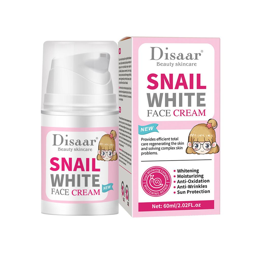 Snail  Face  Moisturizing  Cream Whitening Moisturizer Collagen Women Anti Skin Care Cream 60ML face cream