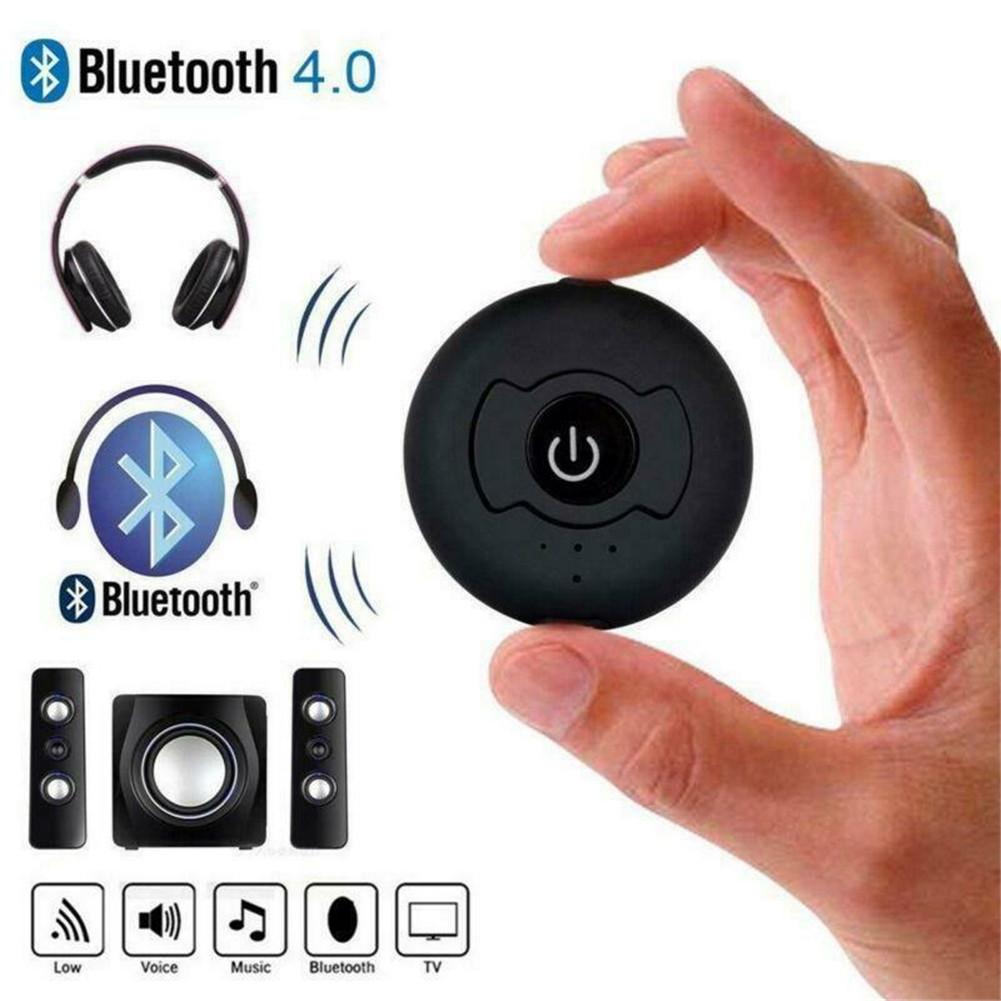 CSR 4.0 Dual Bluetooth 4.0 Audio Signal Transmitter 3.5mm Audio Interface of TV DVD MP3 black