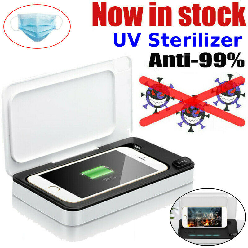 Charger Multifunction Mobile Phone Ultraviolet Sterilizer Wireless Charger Cleaner Sterilizer Jewelry Sterilizer A02 wireless charging