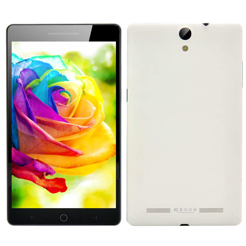 7 Inch Octa Core Android 4.4 Phablet (White)