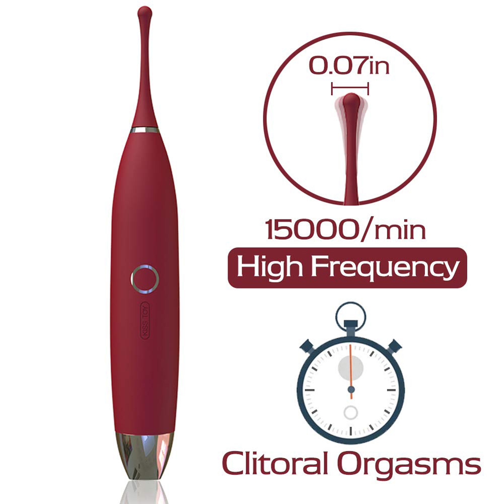 G Spot Clit Vibrator Clitoral Massager Stimulator Toys Sex Toys for Women and Couples Crimson
