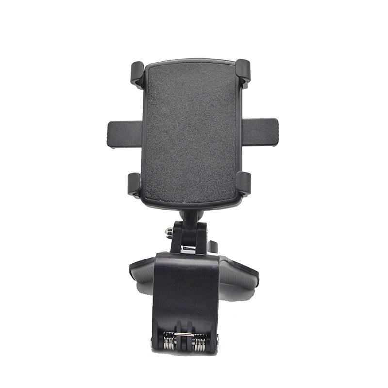 Mobile Phone Holder Dashboard Mount Holder 360 Degree Car Gravity Stand black