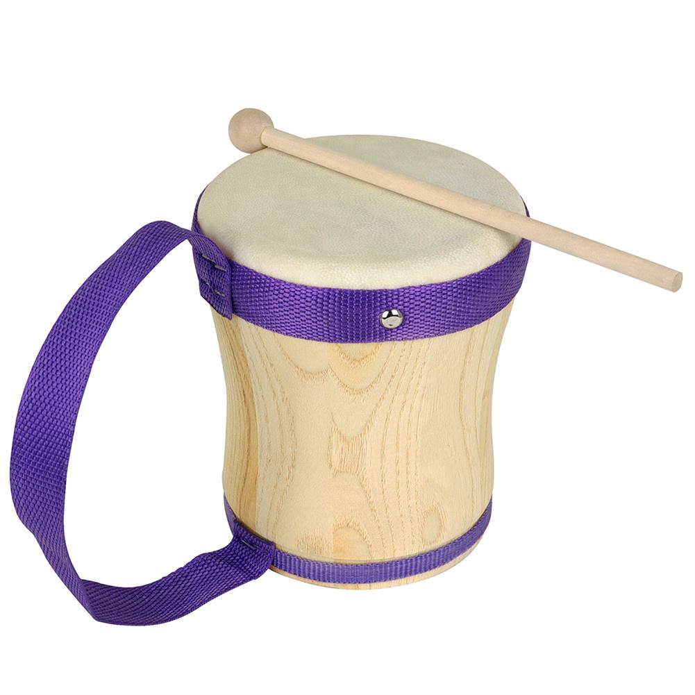 Exquisite Wooden Hand Drum Bango Drum Accompaniment Drum Music Instruments Wood color
