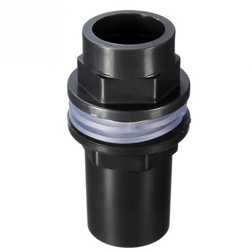 20mm/25mm/32mm Straight Tank Connector PVC Leakproof Pipe Joint Fish Tank Aquarium 20mm