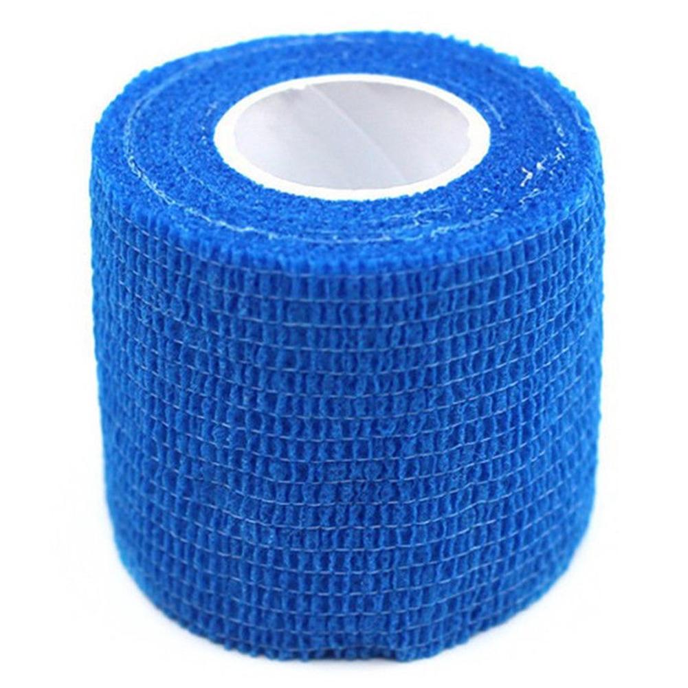 Antiallergic Pet Wound Cohesive Bandage Tape Dog Cat Animal Elastic Self Adherent Wrap 7.5cm*4.5m arandom colour