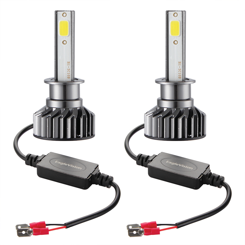 2PCS Mini Car LED Headlight Bulb H1 H7 H8/H9/H11 9005/HB3 9006/HB4 H4/HB2/9003 Hi/Lo 72W 10000LM 6000K Car Headlamp H1