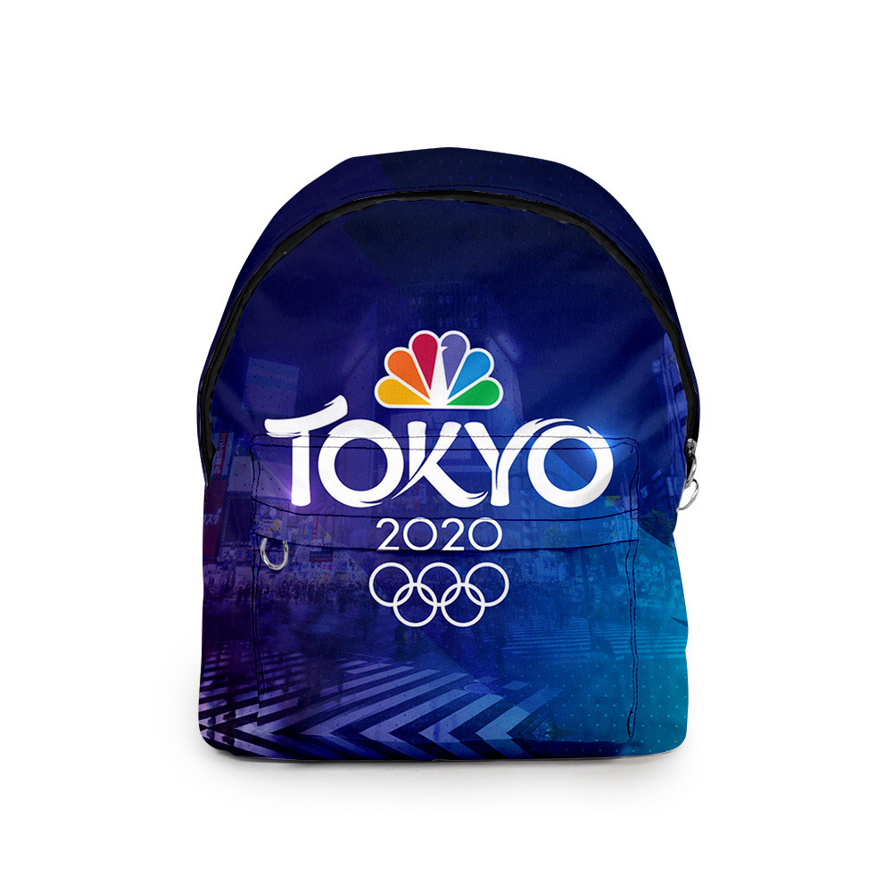 Sports Backpack 2020 Tokyo Olympics Print Casual Bags Y_Free size