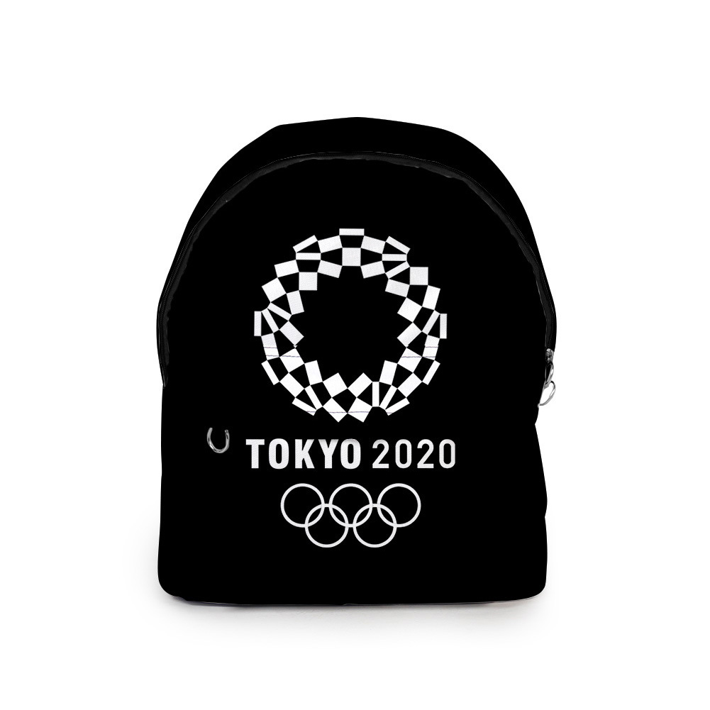 Sports Backpack 2020 Tokyo Olympics Print Casual Bags O1_Free size