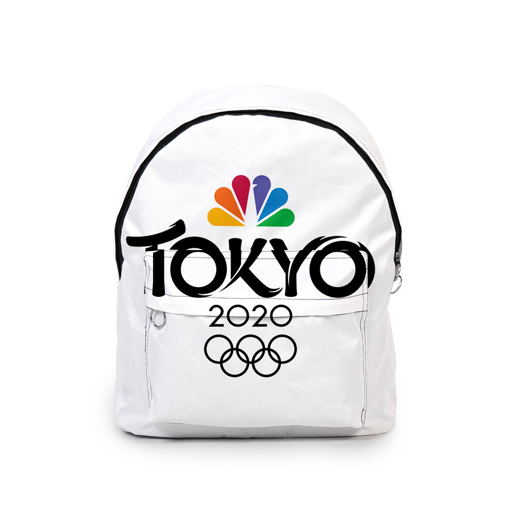 Sports Backpack 2020 Tokyo Olympics Print Casual Bags J1_Free size