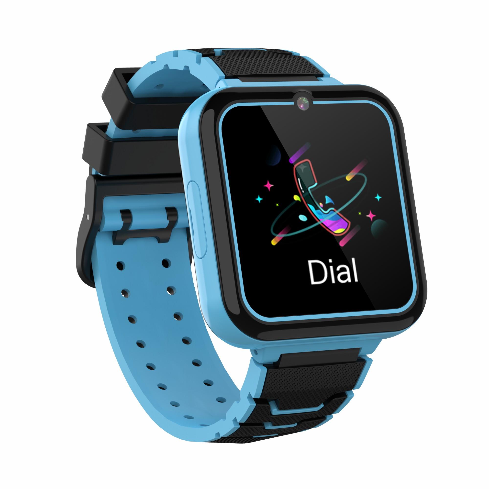 Y16 Kids Smart Watch Multi-language Ips Screen Game Camera Video Phone Smartwatch blue