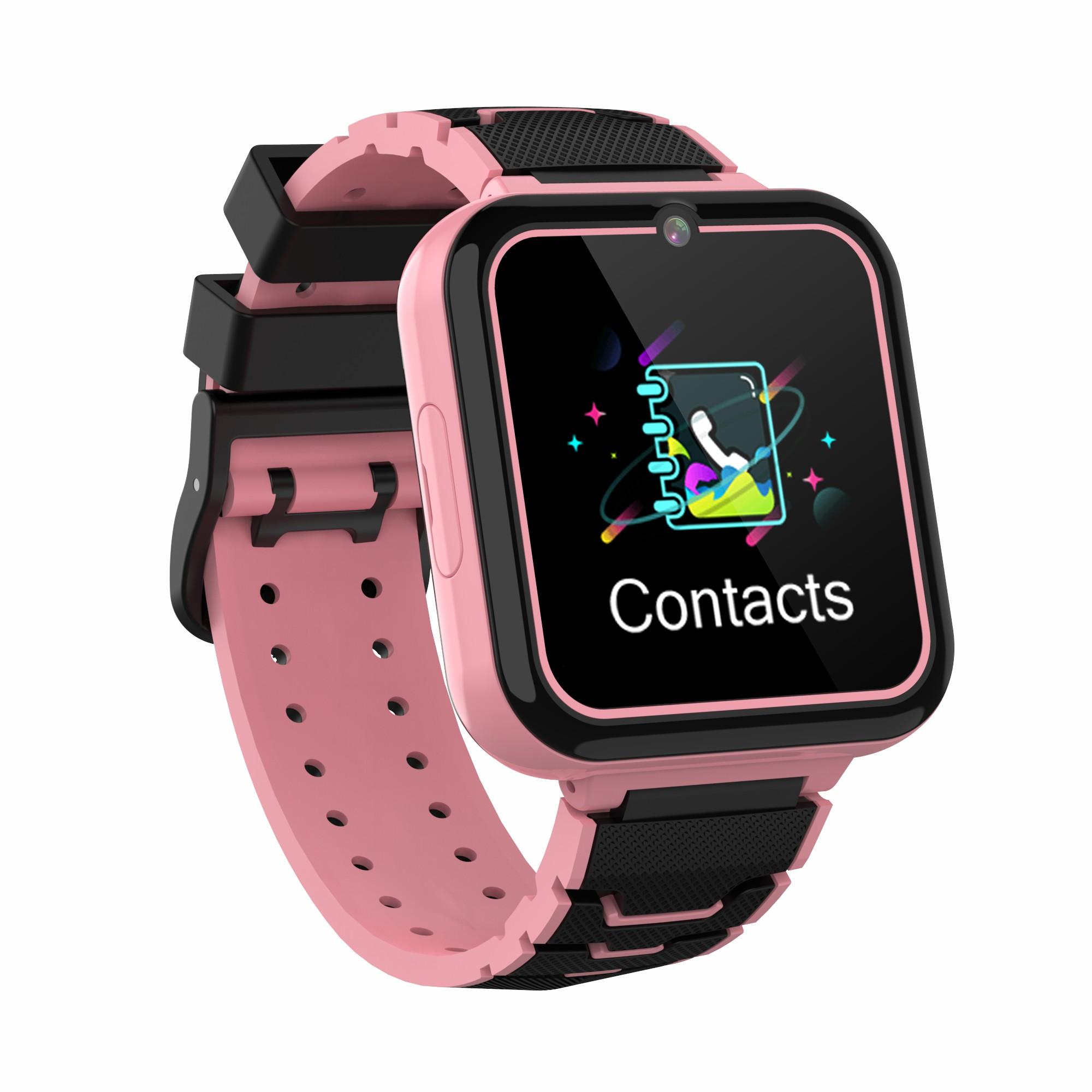 Y16 Kids Smart Watch Multi-language Ips Screen Game Camera Video Phone Smartwatch Pink