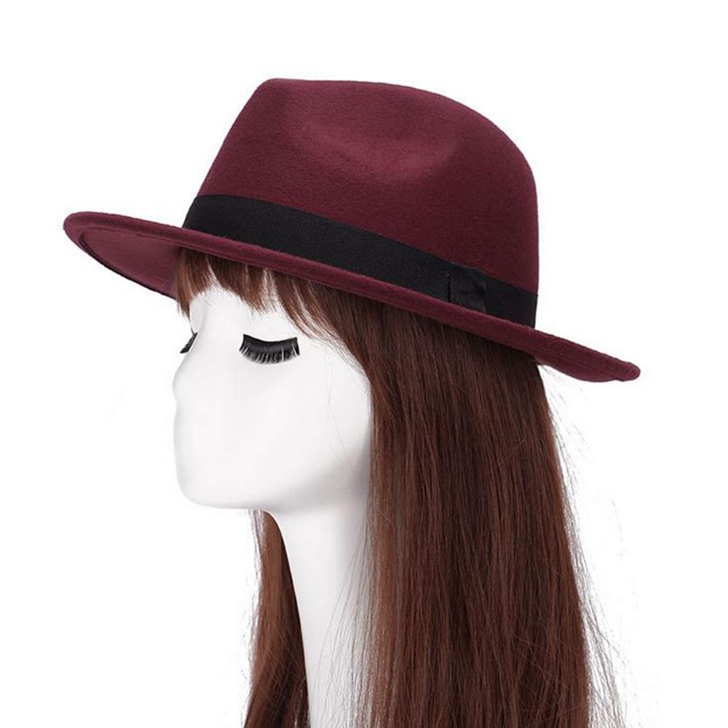 Unisex Timelessly Classic Manhattan Fedora Hat Black