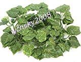 CYNDIE Artificial Ivy Garlands Silk Plant Leaves Vine Wedding Xmas Festival Party 80 Best Price Gift Star