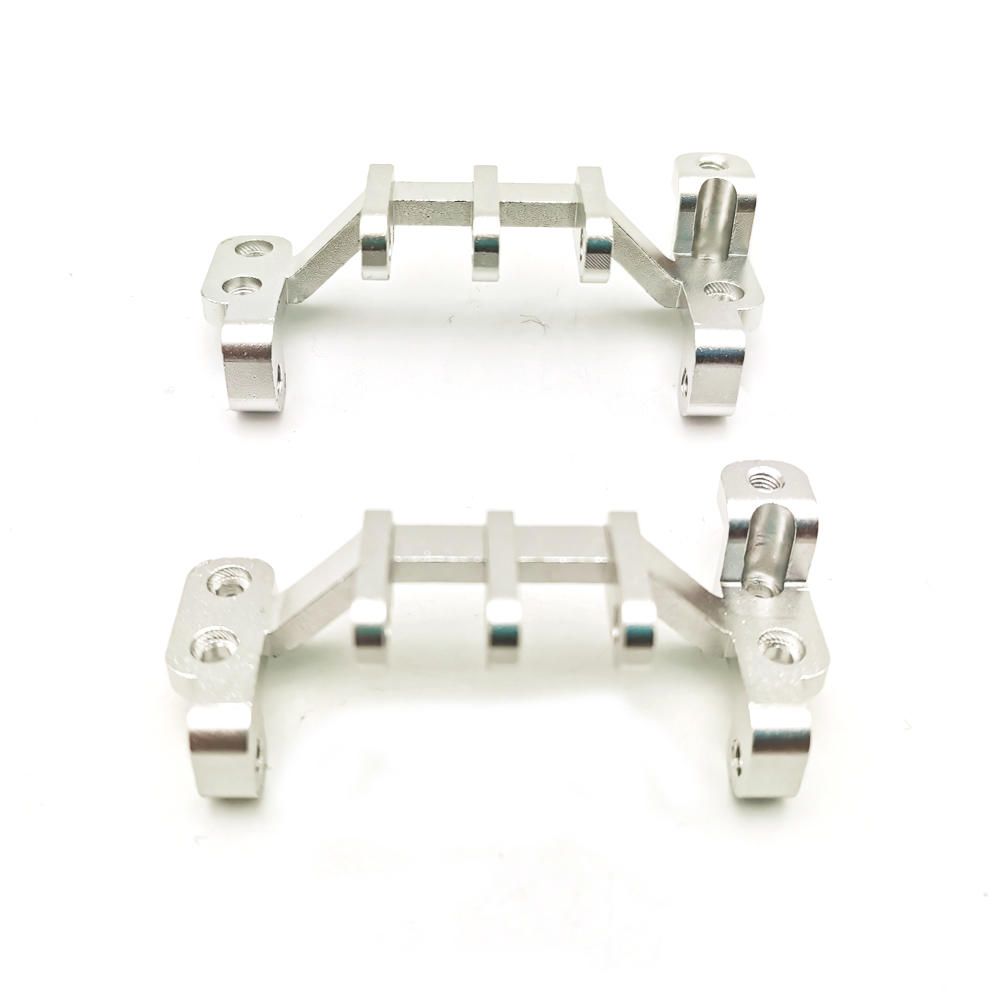 WPL C34 Common Upgrade Accessories Refit Traction Link Base for 1/16 Truck RC Car Parts Silver