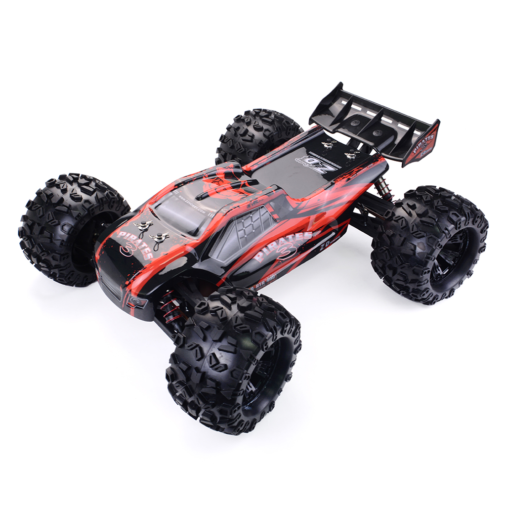 ZD Racing 9021-V3 1/8 2.4G 4WD 80km/h Brushless Rc Car Full Scale Electric Truggy RTR Toys Red vehicle RTR