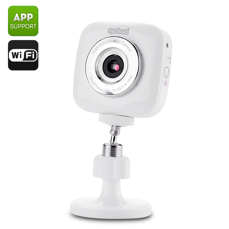 Sycloud iP01 Portable Wireless Camera (White)