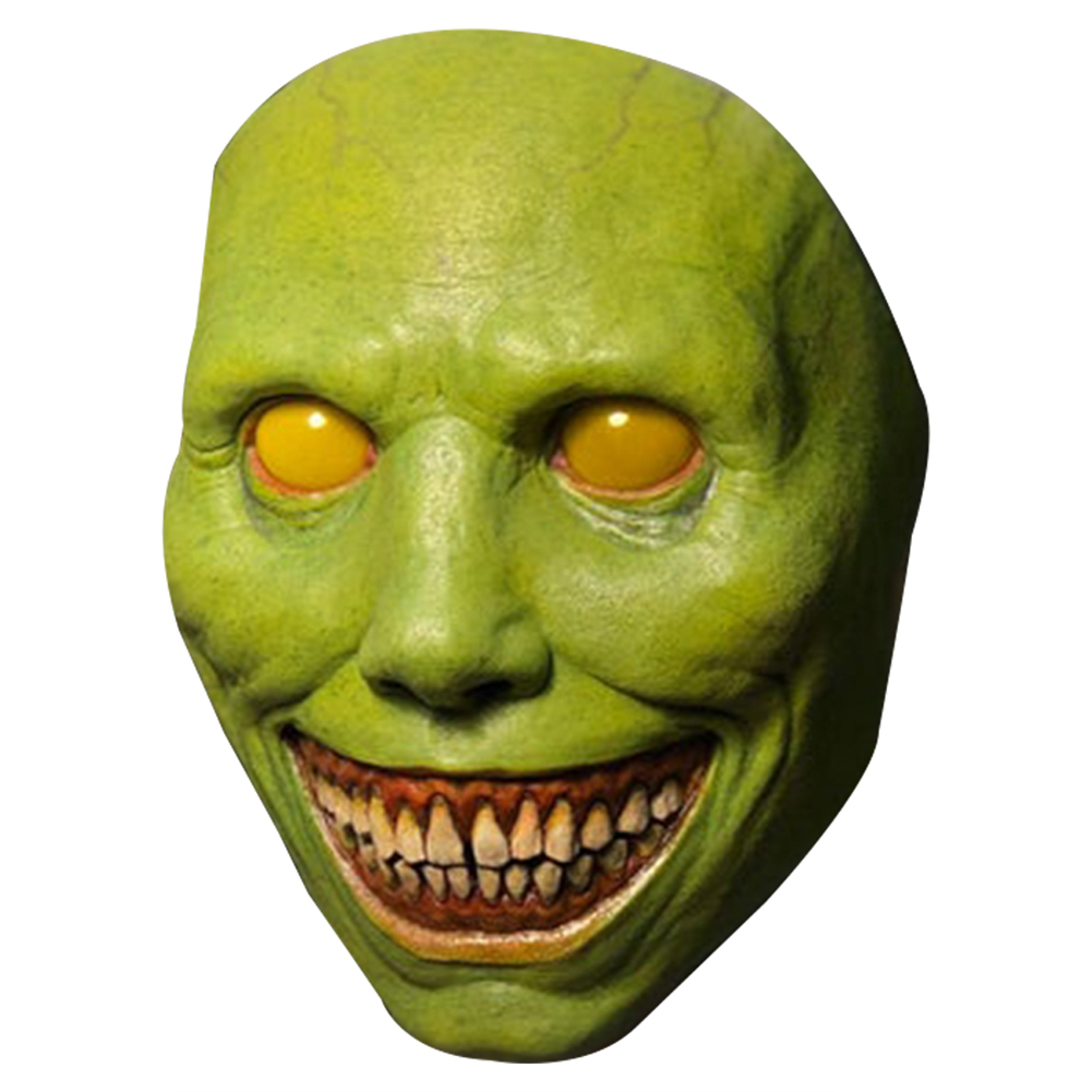 Halloween Horror  Mask Exorcist Smile Cosplay Decoration Props Free Size