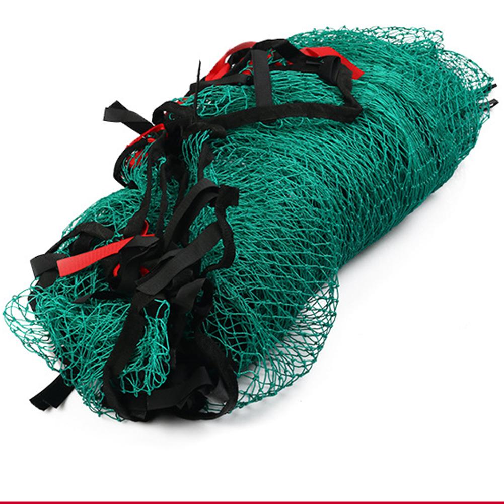 Polyethylene Golf  Net With Magic Sticker 3*3m High Toughness Mesh For Golf Course green