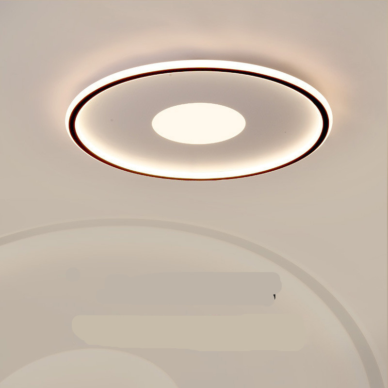 LED Modern Round Ceiling Lights for Bedroom Living Room Decorative Lighting 3 colors dimming