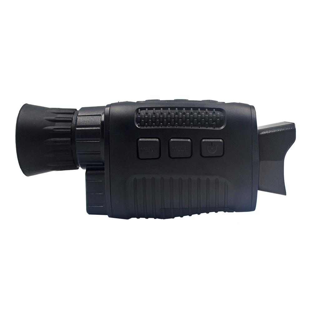 Hd Digital Night Vision Infrared Binoculars 5x Digital Zoom Strong Infrared Spotlight Rechargeable Night Vision Black