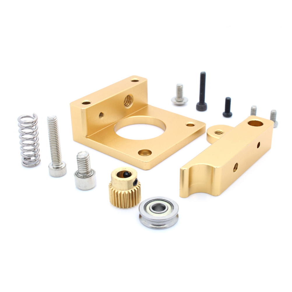DIY 3D Printer MK8 1.75mm Remote Extruder Kit All-metal Frame  Positive