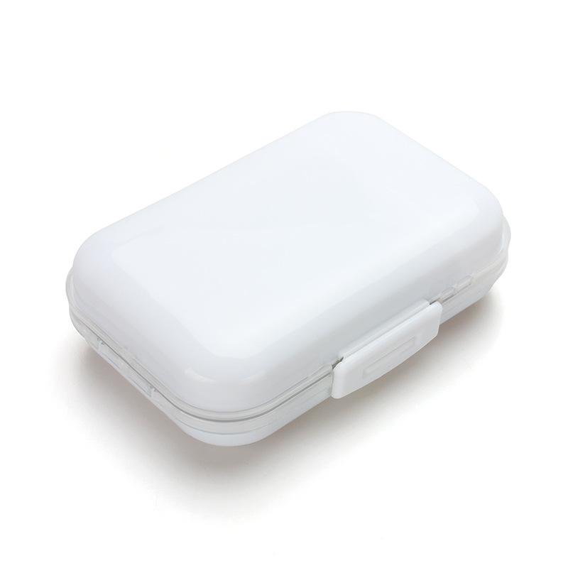 Portable Pocket Storage Box Electronic Cigarette Accessories white
