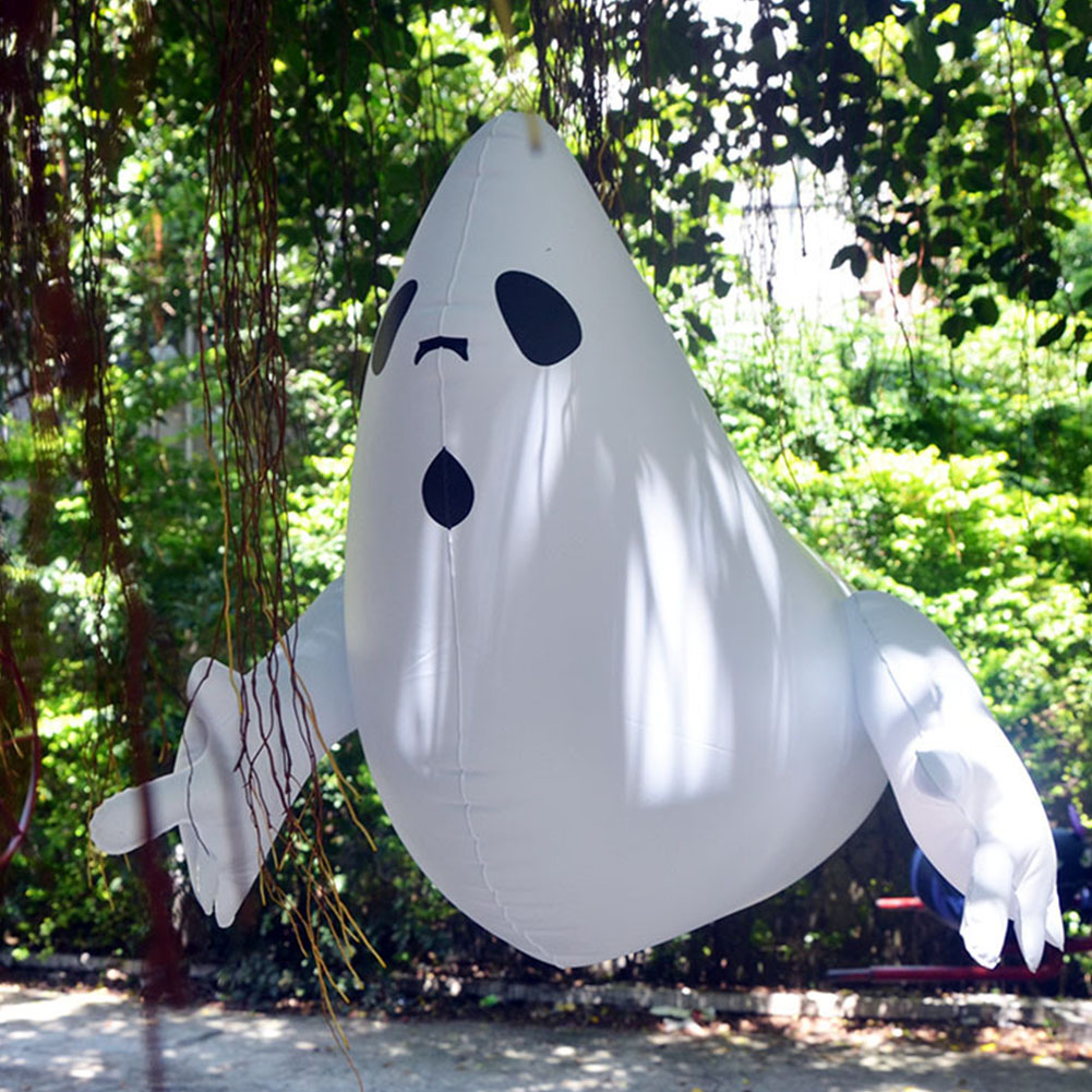 Inflatable Hanging Balloon for Outdoor Halloween Yard Shopping Mall Bar Party Decor ghost