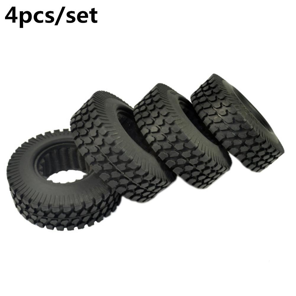 4pcs/set Alloy Wheel Tire 98mm for 1/10 Simulation Climbing Car Axial D90 SCX10 CC01