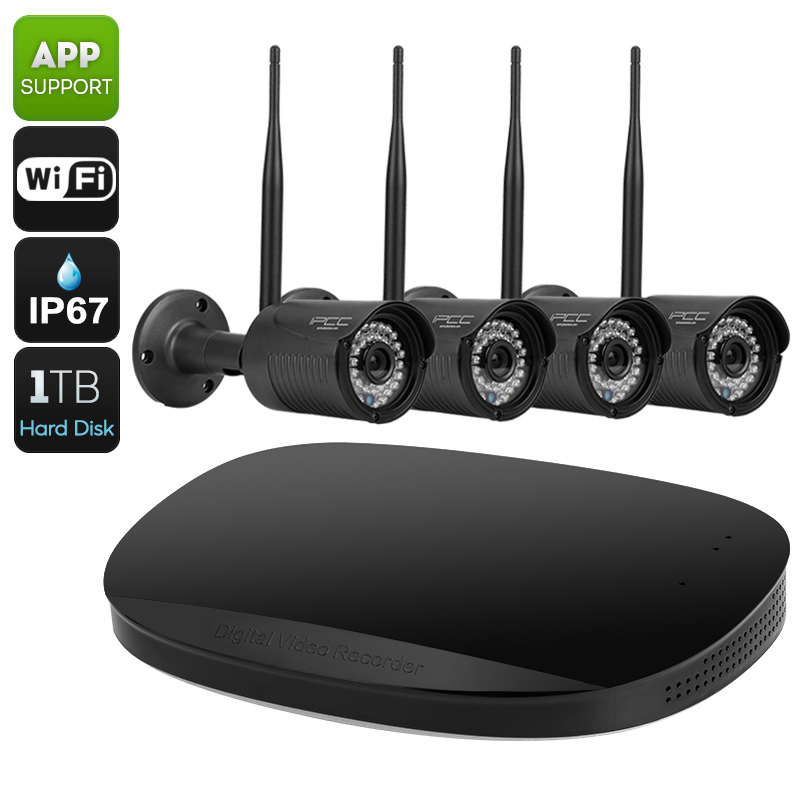 4 Channel NVR Security Kit