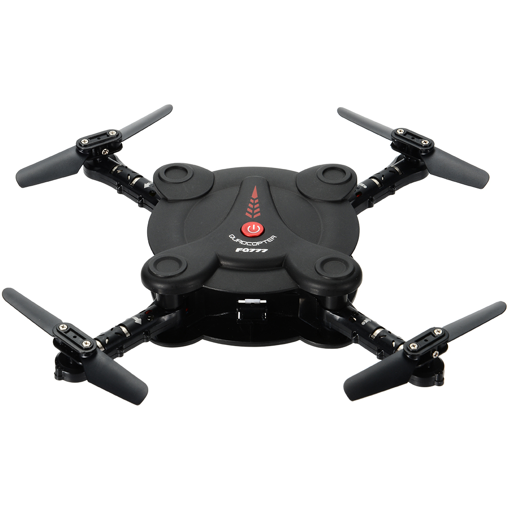 FQ777 FQ17W RC Quadcopter Drone - Black