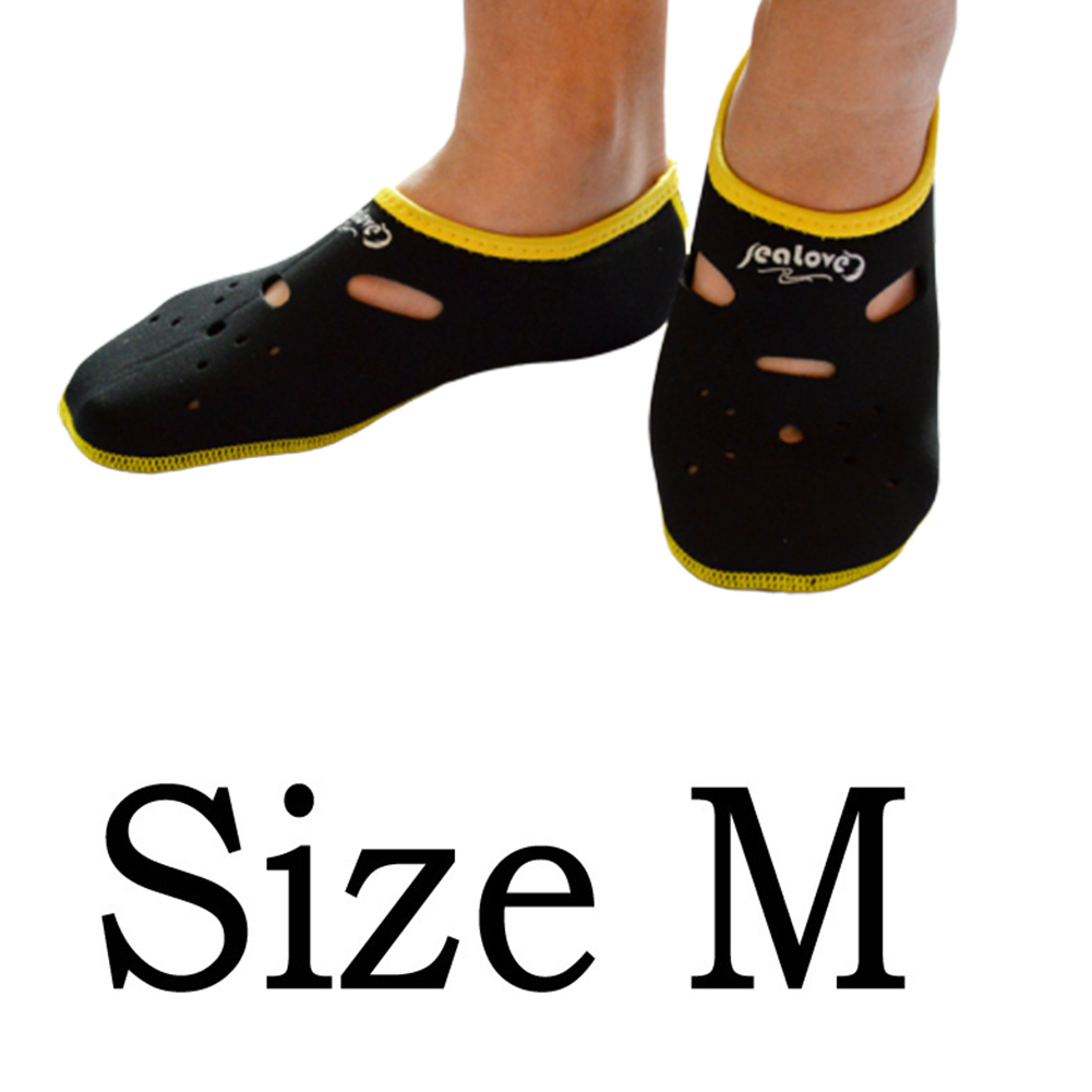 Water Sports Neoprene Diving Socks Anti Skid Beach Sock Swimming Surfing Neoprene Socks Adult Diving Boots Wet Shoes black_M