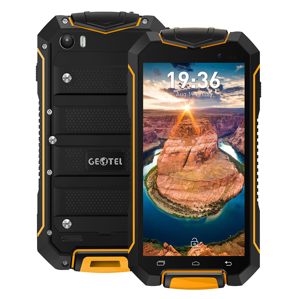 Geotel A1 yellow