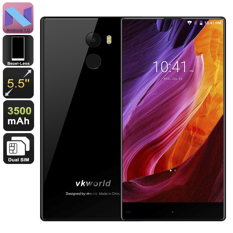 VKworld MIX Android Phone (Black)