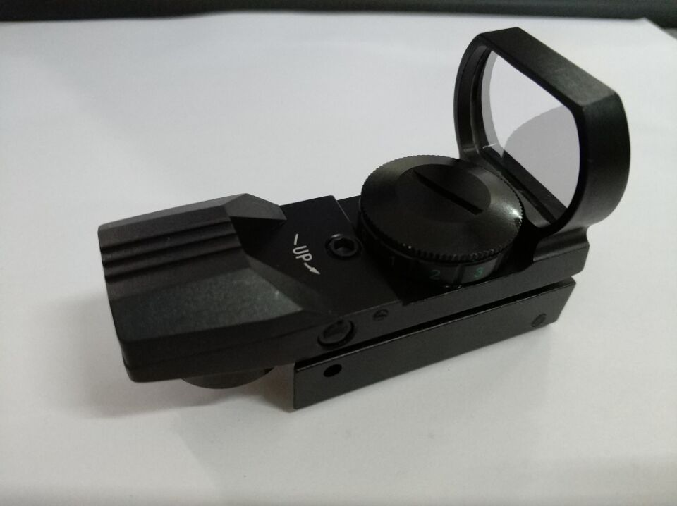 Single-Cylinder Telescope Optics Tactical Reflex Optics Sight Scope Non-Infrared Perspective for Hunting Four variable point 20MM card slot