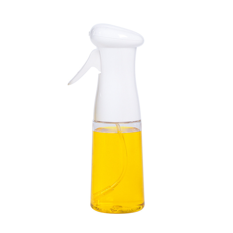 Oil  Sprayer Oil Control Spray Bottle Kitchen Tools For Kitchen Cooking Baking Grilling Roasting White (plastic)