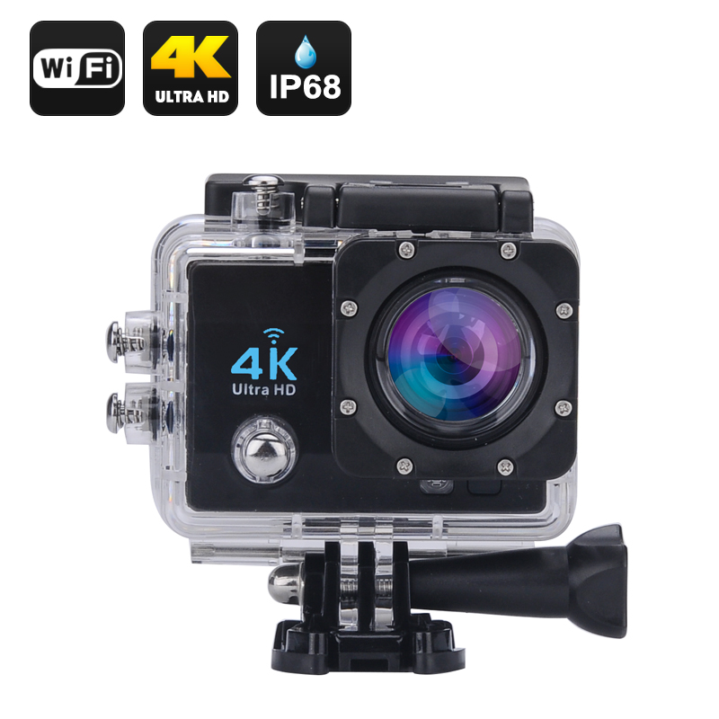 Wholesale Wi-Fi 4K Waterproof Sports Action Camera From China