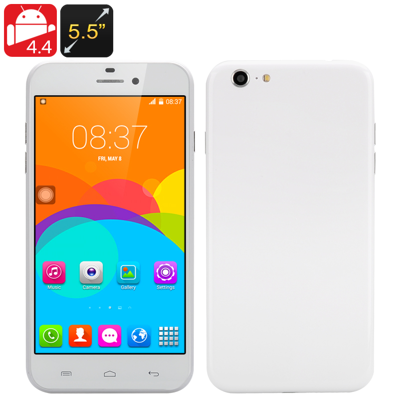 "5.5 Inch Android ""i7""  Phone (White)"