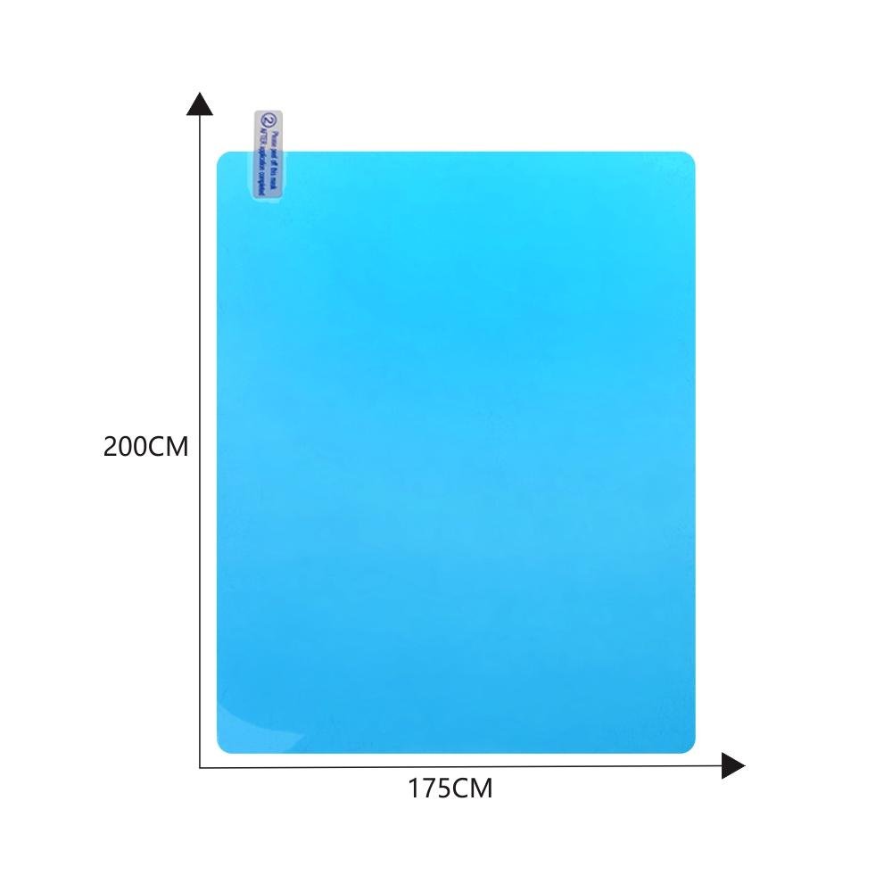 2PCS Car Side Window Protective Film Anti Fog Waterproof Anti Glare Membrane Car Sticker Square for side window 175*200MM