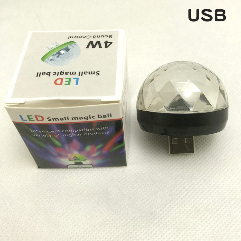 USB Rechargeable Voice Control Ball Lamp