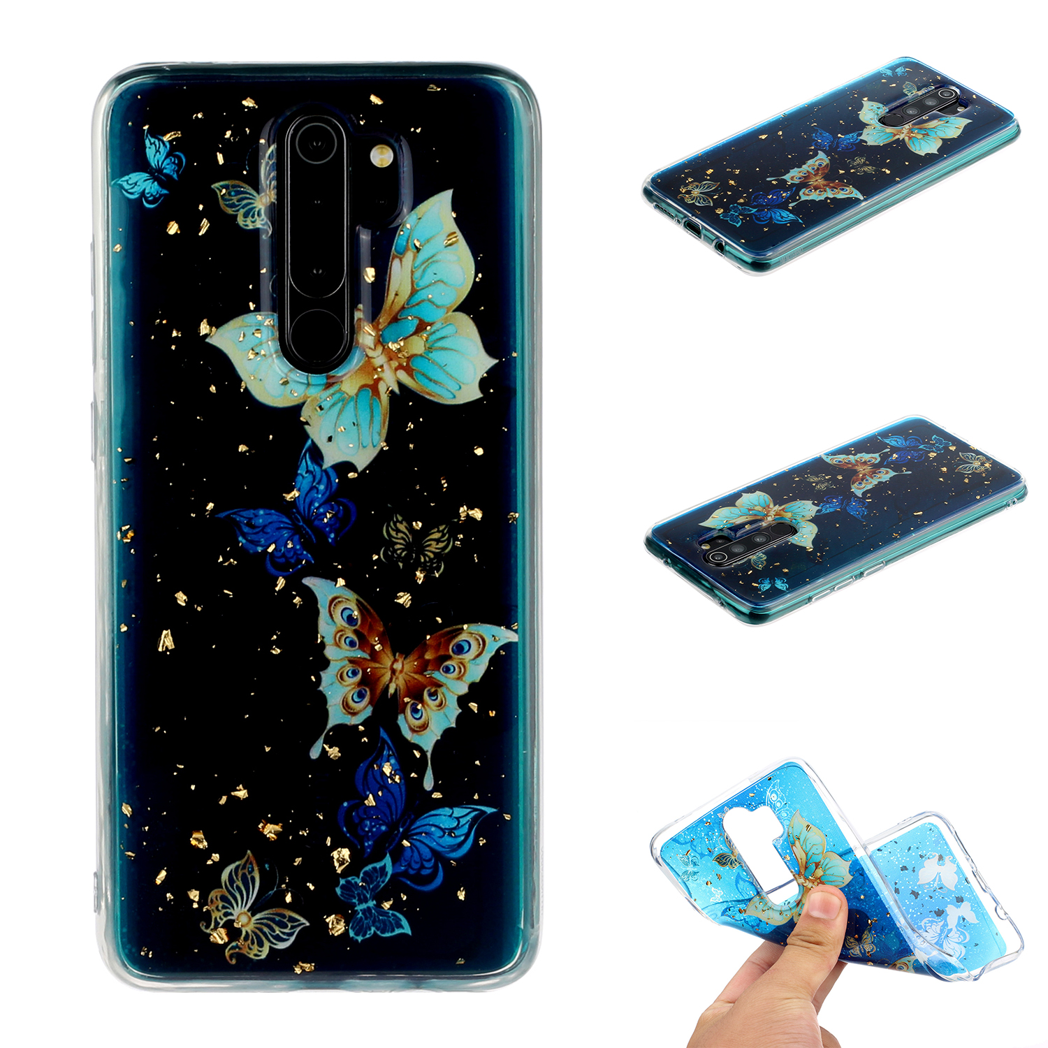 For Redmi Note 8 / Redmi Note 8 Pro Cellphone Cover Beautiful Painted Pattern Comfortable Wear TPU Phone Shell 7