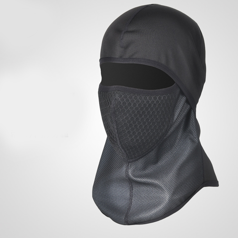 Motorcycle Head Covering Masks Windproof Cold Proof Cycling Masks Balaclava Cap Motorcycle Head Covering Masks black_One size