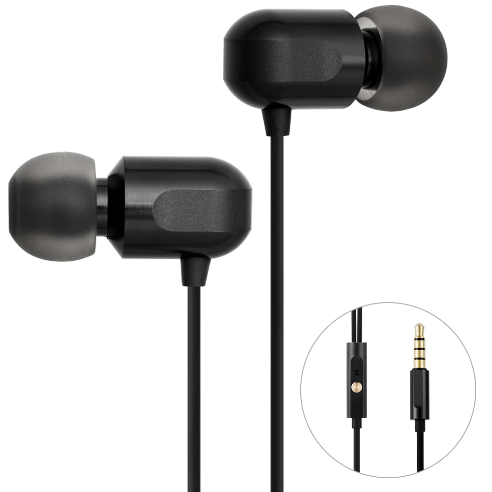 GGMM Stereo Noise Cancelling Black Headset