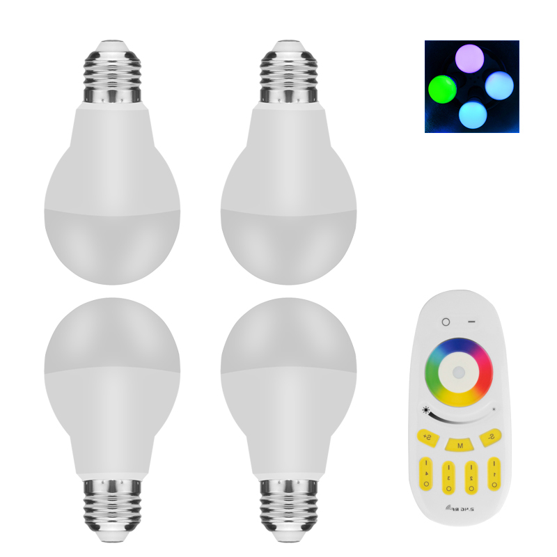 E27 RGBW LED Light Bulbs
