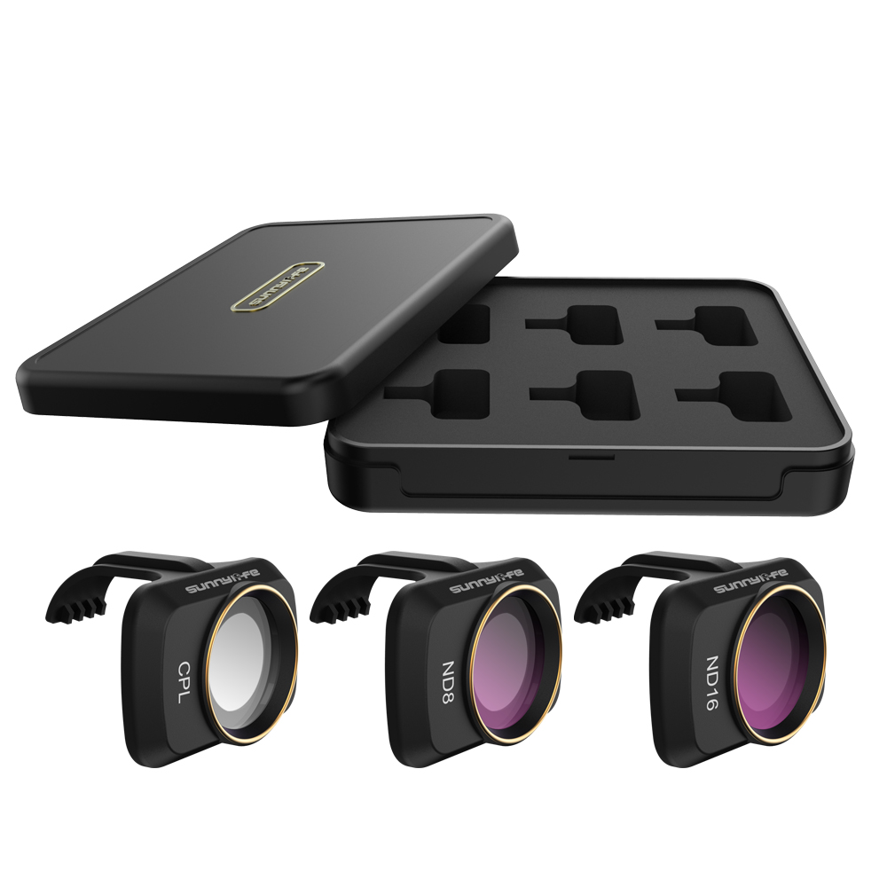RC Drone Lens Filter Set ND CPL NDPL MCUV Kits for Mavic Mini Airplane Mini Camera Accessories Multi-layer Coating Optical Glass CPL + ND8 + ND16